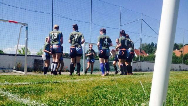 Women's Rugby Club Innsbruck Warm-up